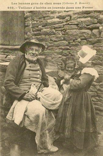 Tailleurs d'habit pendant près de 200 ans et sur 6 générations | Auprès de nos Racines - Généalogie | Scoop.it