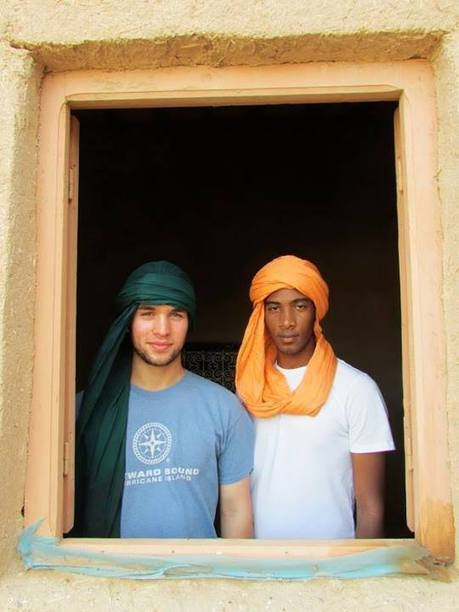 NSLI-Y Scholars Learn to Tie Turbans in Morocco, July, 2013. | iEARN in Action | Scoop.it
