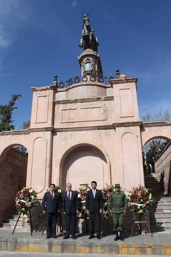 Conmemoran 131 aniversario luctuoso del general J. Jesús González Ortega   horus   Scoop.it