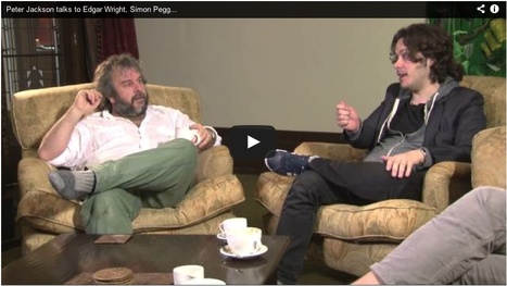 "Peter Jackson talks to Edgar Wright, Simon Pegg, Nick Frost about ""WORLD'S END"" 