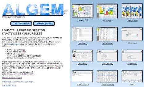 Rencontre avec ALGEM, Application Libre de Gestion d'École de Musique - Framablog   2O2S   Scoop.it