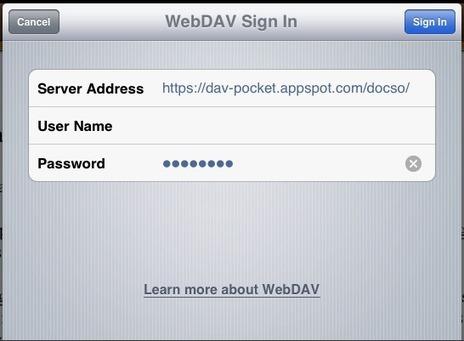 DAV-pocket Lab - WebDAV access to Google Drive | Zotero | Scoop.it