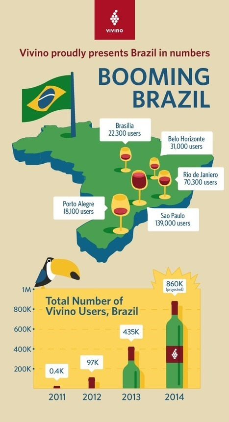 Brazil Is Crushing Wine And Tech | In The Glass Wine and Spirits News | Scoop.it