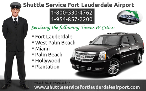Fort Lauderdale FL Business Shuttle Service   shuttleservicefortlauderdaleairport   Scoop.it