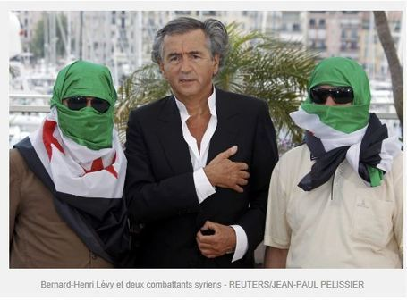 BHL DEGAGE ! BHL appel au massacre du peuple syrien par ses amis barbares | Everything you need… | Scoop.it