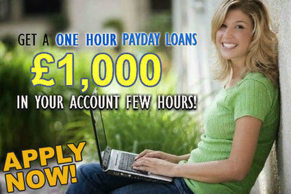 Get Money Within One Hour Despite Bad Credit Score | One Hour Payday Loans | Scoop.it
