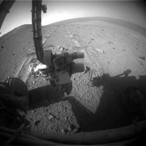 Deberán reformatean la memoria del Oportunity desde la tierra | AstroNoticias NS | Scoop.it