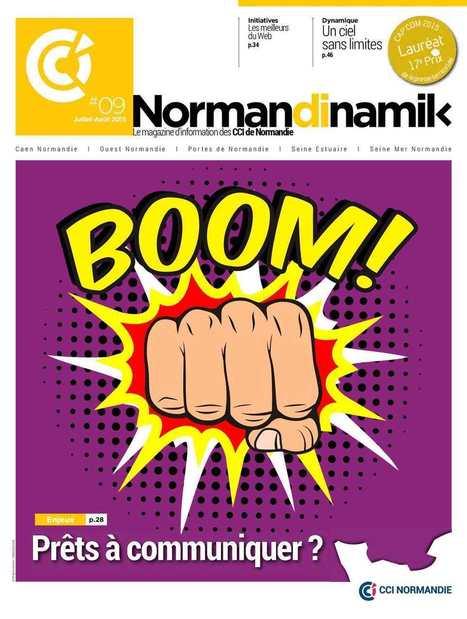 Normandinamik #09 Juillet-Août 2015 | CCI Le Havre | Scoop.it