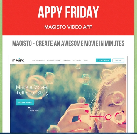 Librarians on the Fly: Magisto - Great Videos in Minutes! | Educational technology | Scoop.it