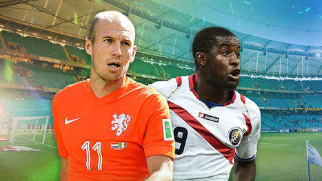 Holanda vs. Costa Rica en vivo por los cuartos de final de la Copa del Mundo | Futbol en vivo :: www.futbolvivo.tv | Scoop.it