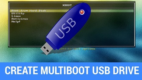 How To Put Multiple ISO Files In One Bootable USB Disk | Create Multiboot USB | Android Hacking | Scoop.it