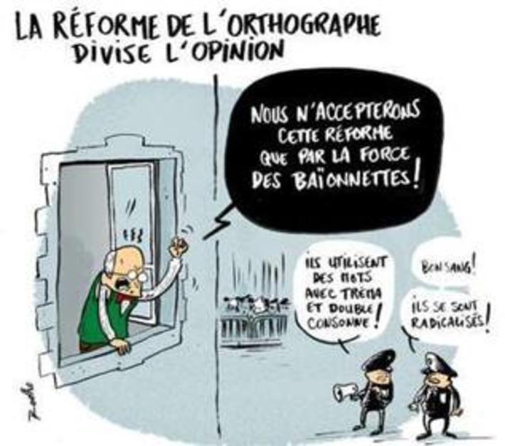 Réforme de l'orthographe | Baie d'humour | Scoop.it