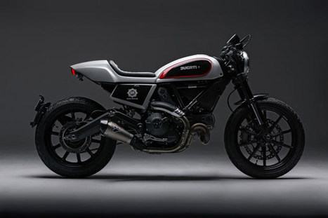 Skunk Machine: A Cafe Twist For The Ducati Scrambler | Ductalk Ducati News | Scoop.it