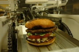 Robot Serves Up 360 Hamburgers Per Hour | Education Technology | Scoop.it