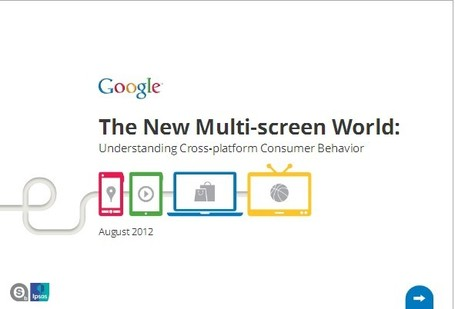 If Content Is King, Multiscreen Is The Queen, Says New Google Study | Creativity as changing tool | Scoop.it