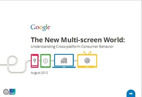 If Content Is King, Multiscreen Is The Queen, Says New Google Study | Transmedia: Storytelling for the Digital Age | Scoop.it
