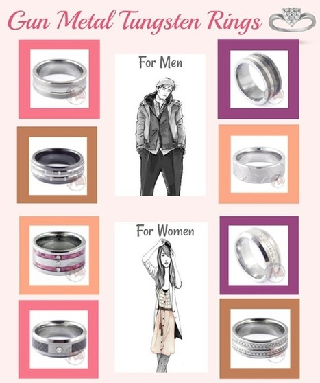 Choose the perfect ring for a particular occasion | mad tungsten | Scoop.it