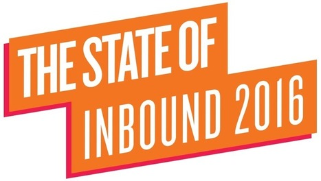 State of Inbound 2016 - HubSpot | Designing  service | Scoop.it