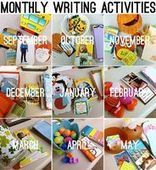 Daily 5 Work on Writing-Monthly Resources - Second Story Window | Apprendre et mémoriser simplement | Scoop.it