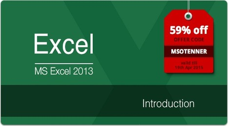 MS Excel 2013: Introduction | eLearning | Scoop.it