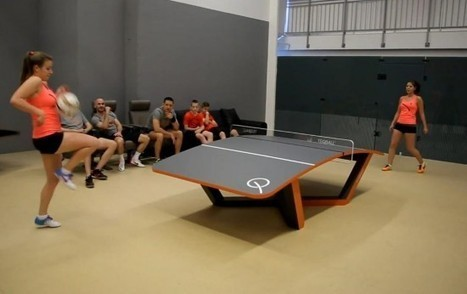 Teqball – An Awesome Combination of Football and Table Tennis | Strange days indeed... | Scoop.it