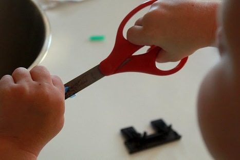 Learning Activity : Cutting Straws [hands on : as we grow] | Teach Preschool | Scoop.it
