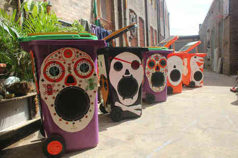 Love a solar powered sound system in a wheelie bin! | Sustainable Events News | Scoop.it
