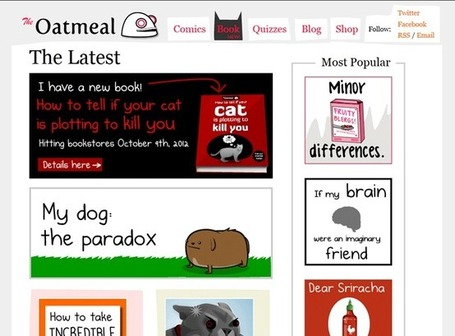 Unforgettable: 10 Purple Cow Websites to Spark Your Imagination and Your Creativity | Public Relations & Social Media Insight | Scoop.it