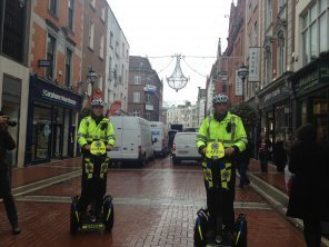 Pics: Gardaí get rolling on their new Segways   All things Ireland   Scoop.it