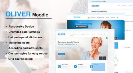 Oliver - Responsive Moodle Theme | Awesome Moodle systems | Scoop.it