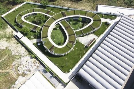 Une école coiffée d'un turban végétal pour affronter le climat équatorial | Dans l'actu | Doc' ESTP | Scoop.it