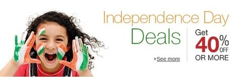 Independence Day FabOffers. Get 40% Off Or More | DribblingMan | Scoop.it