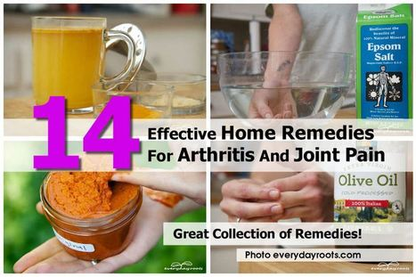 14 Home Remedies for Arthritis and Joint Pain | How To Have A Better Sex Life | Scoop.it