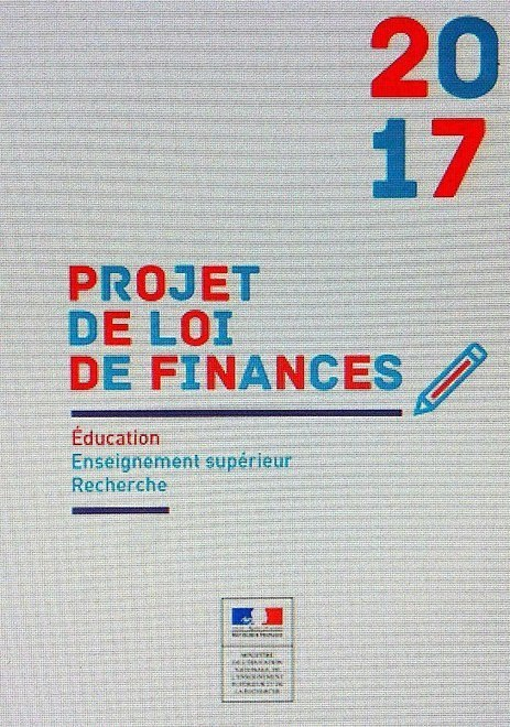 Budget 2017 : ne pas y croire | Enseignement Supérieur et Recherche en France | Scoop.it