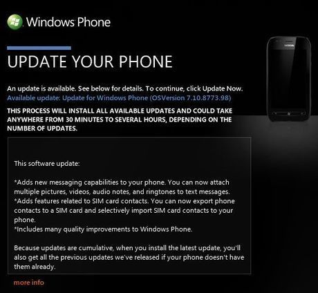 How to force update Nokia Lumia 800 & 710 to latest software 'Tango' - SymbianTweet | Nokia, Symbian and WP 8 | Scoop.it
