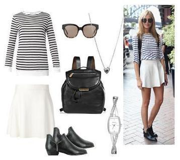 Women Fashion Clothing: Complete Black and White WardRobe Set   Women Fashion Clothing   Set That   Scoop.it