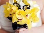 Yellow and Black Wedding Inspirations | Wedding Planning Ideas and Wedding Themes | Scoop.it