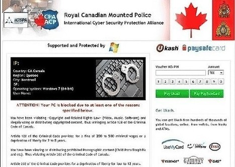 Computer Virus Manual Removal: RCMP (Royal Canadian Mounted Police Ukash Virus): How to Unlock Screen from Ukash Scam?   Metropolitan Police Virus   Scoop.it
