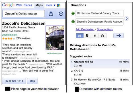 Une nouvelle version de Google Maps pour iPhone et Android | Mobile Apps & geolocalisation | Scoop.it
