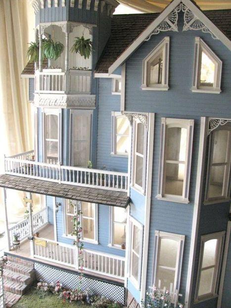 La maison victorienne miniatures et maisons d for Acheter une maison paris