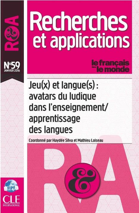 Le jeu en classe de langue » Jeu(x) et langue(s): avatars du ludique dans l'enseignement/apprentissage des langues | FLE: LANGUE-CULTURE ET CIVILISATION-DIDACTIQUE | Scoop.it