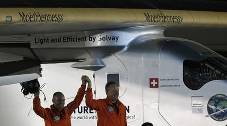 Solar Impulse 2 a bouclé avec succès un tour du monde historique   Planete DDurable   Scoop.it