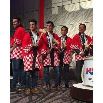 Marquez and Pedrosa celebrate 2015 at HRC Thanks Day | MotoGP World | Scoop.it