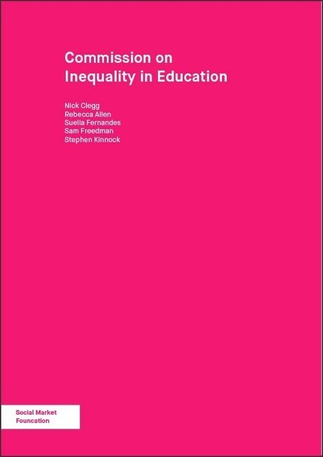 Educational inequalities in England and Wales Social Market Foundation research | Higher education news for libraries and librarians | Scoop.it