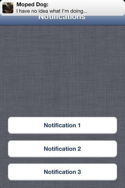 MPNotificationView - mimics iOS6 notifications   iPhone and iPad Development   Scoop.it