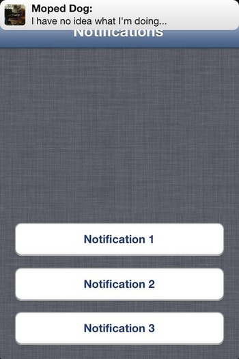 MPNotificationView - mimics iOS6 notifications | iPhone and iPad development | Scoop.it