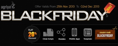 Agriya's Amazing Black Friday Deals Has Started | Contest Software - 99designs clone | Scoop.it