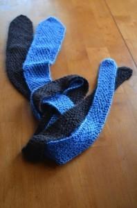 How to Knit Men's Ties - Go Gingham   Stylishly Frugal Living   Sara ...   men's ties   Scoop.it