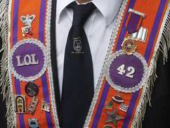 Orangeman fined over friend's funeral parade | UK | News | Daily Express | My Scotland | Scoop.it