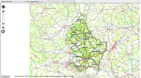 The Geoportal of the National Grand Duchy of Luxembourg: map.geoportail.lu | Webmapping | Scoop.it